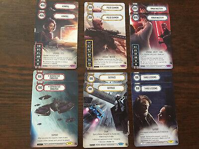 Star Wars Destiny - OP PROMOS - 6x Playsets -G19D3 - Niman, Pulse, Admiral +++