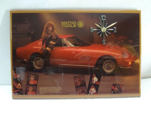 MATCO Tools Ferrari 275 GTB Clock Snap On Mac