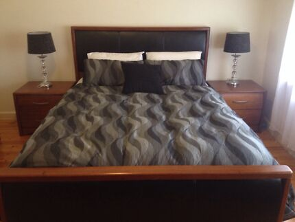 Tasmanian Oak 4pc Bedroom Suite Adelaide CBD Adelaide City Preview
