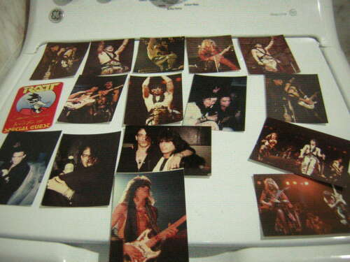 RATT UNPUBLISHED PHOTOS LOT OF 25 WITH BACKSTAGE 1985 ORIGINAL ROBIN CROSBY
