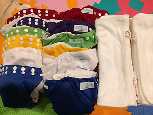 Cushie Tushies modern cloth nappies pack Doubleview Stirling Area Preview