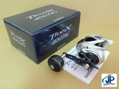 SHIMANO TRANX 400HG 400A HG RIGHT HAND BAITCASTING REEL *1-3 DAYS FAST DELIVERY*