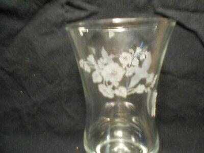 Clear Etched Hummingbirds Votive Cups Lot of 2 Vintage Home Interiors