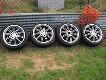 "Holden Commodore 18"" Rims & Tyres Aberdeen Upper Hunter Preview"