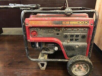 Honda Eb6500x 6500 Watt 120240v Portable Generatorheavy Duty