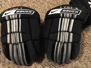 Bauer Youth hockey gloves