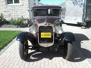 1930 Ford Model A coupe.