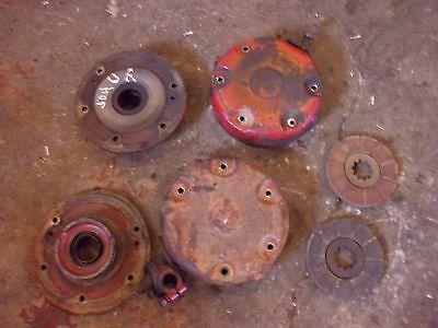 International 504 Utility Ih Tractor Pairset Of Disc Disk Brake Brakes