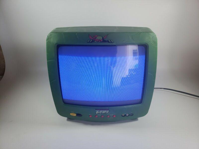 """Teenage Mutant Ninja Turtles TMNT 13"""" CRT Retro Gaming TV Television TESTED"""