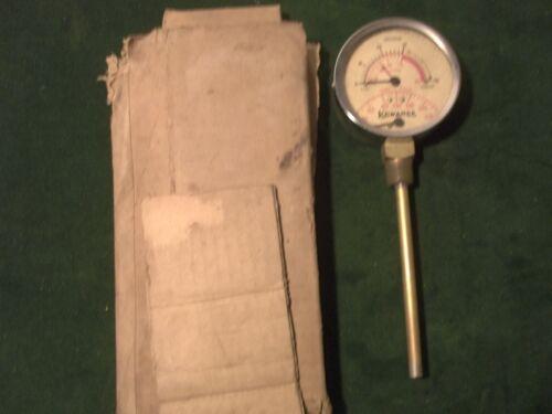 New Vintage Kewanee Pressure Gauge~Jos P Marsh Corp, Chicago~Steampunk~ Aisle J