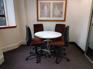 Ex Display Office Chairs - Brown, Fully Adjustable, Quality Chair Turrella Rockdale Area Preview