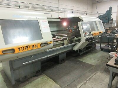 2008 Toolmex Fat Haco Tur630-mn 2 Axis Cnc Lathe Manual Plus 25 X 118