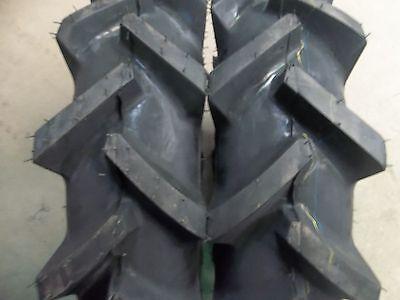 Two 6x14 6-14 Yanmar Ym226 Bar Lug R1 4 Ply Tractor Demolition Tires