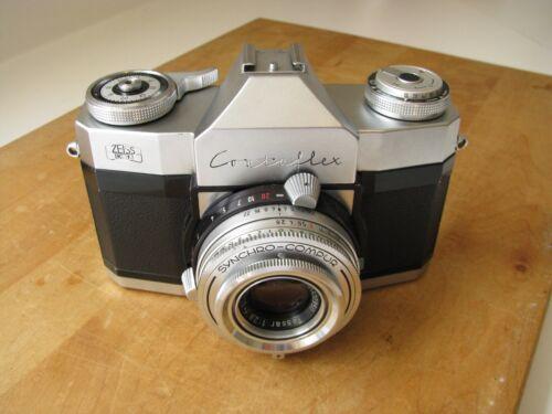 Rare Zeiss Ikon Contaflex Rapid w. Carl Zeiss 50mm Tessar f/2.8 Lens