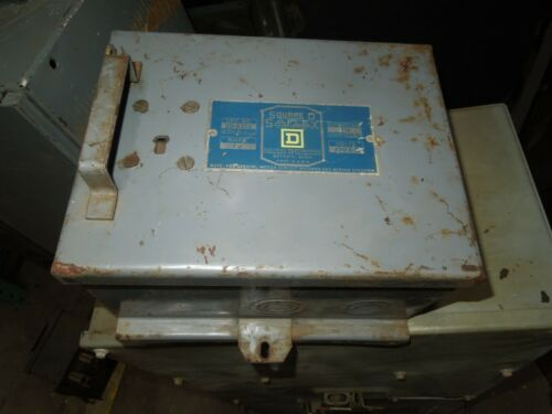 Square D Sd-9352 Round Bar Fusible Busplug 60a 3ph 3w 230v Cover Operated