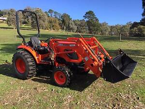 Kioti Tractor 42 HP CK4210 HST 4WD FEL Kangaroo Ground Nillumbik Area Preview