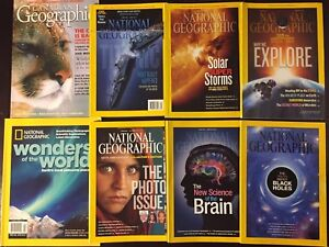 Canadian & National Geographic Magazines   Special Publication