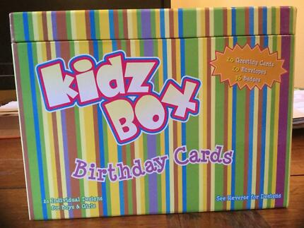 Box Of Birthday Cards