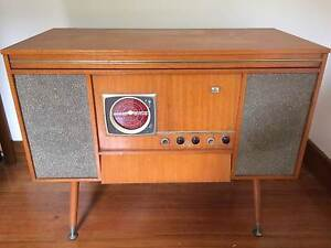 Vintage radio and record player Campbellfield Hume Area Preview