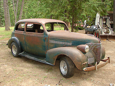 1939 chevy master deluxe 2 door sedan rat rod street for 1939 chevy 2 door sedan for sale