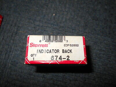 Starrett Dial Indicator Back 674-2