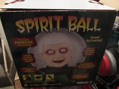 Spirit Ball TESTED WORKS NICE in box - Work Spirit Halloween