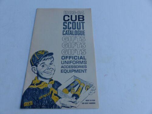 1963 - 1964 Boy Scouts of America Cub Scout Uniform & Equipment Folded Brochure