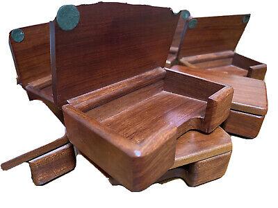Business Card Holder Handmade Wooden New