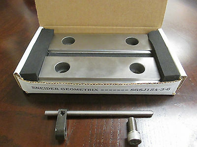 Hard Cnc Mill Double Stepjaws 18 14 Steps Works With Kurt 6 Vise Haas Fadal