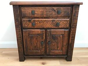 Perfect condition wood side table/drawer Northbridge Willoughby Area Preview