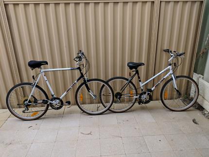 2 x Indi 500 mountain bike (Male and Female)