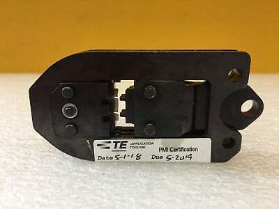 Amp Tyco Te Connectivity 91525-3 22 To 26 Awg Certi Crimp Head Die. Tested