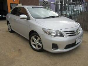 2011 TOYOTA COROLLA CONQUEST SEDAN AUTO 4CYL Thomastown Whittlesea Area Preview
