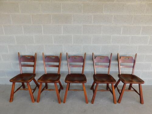 Cushman Furniture Crown Chairs - Set of 5