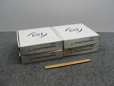 Lot Of 4 Esi Ipfp2 5000-0490 48-key Digital Business Phones -nib-