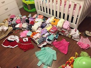 277 articles of baby girl clothing  Peterborough Peterborough Area image 1