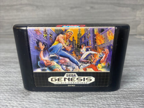 AUTHENTIC Streets Of Rage 1 SOR 1 For Sega Genesis CLEANED TESTED AND WORKING - $29.99