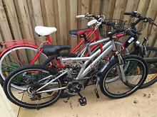 3 bicycles in one lot Denistone East Ryde Area Preview