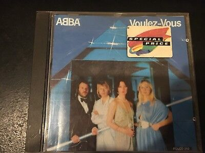 ABBA - VOULEZ-VOUS - CD - WEST GERMANY PRESS Polydor (10 Tracks)