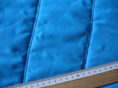 0,5 Laufmeter Steppstoff 3,20€/m²  türkisblau LA21