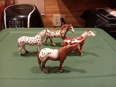 schleich horse lot of 4