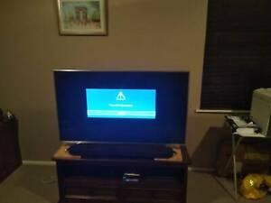 50 inch Hisense 4k HDR television