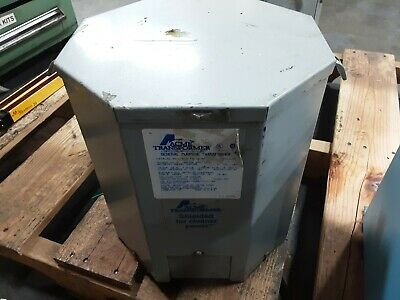 Acme T-2-53516-3s Transformer 1 Phase 10 Kva Type Sr 240480v 07b59pr3