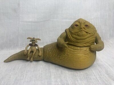 Vintage 1983 Kenner Star Wars Lot Jabba the Hutt Playset Figures Hong Kong