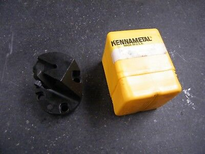 Kennametal 6386-3202chgk Indexable Boring Head 63863202chgk 6386 3202 Chgk