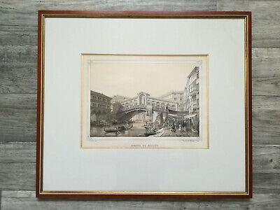 Christo The Pont Neuf Wrapped II Poster Kunstdruck Bild im Alu Rahmen 50x50 cm
