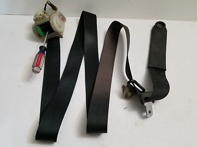 1984 1985 Toyota Celica GTS Convertible passenger right front seat belt black