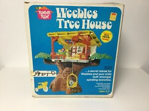Weebles Tree House vintage Hasbro toy from 1975