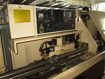 Star Vnc-20 3000 Rpm Spindle Cnc Swiss Screw Machine Wfanuc 6-t Controls