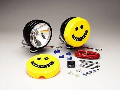 "New KC #233 Black 6"" Daylighter Original Off Road Lights 100w (pr)"